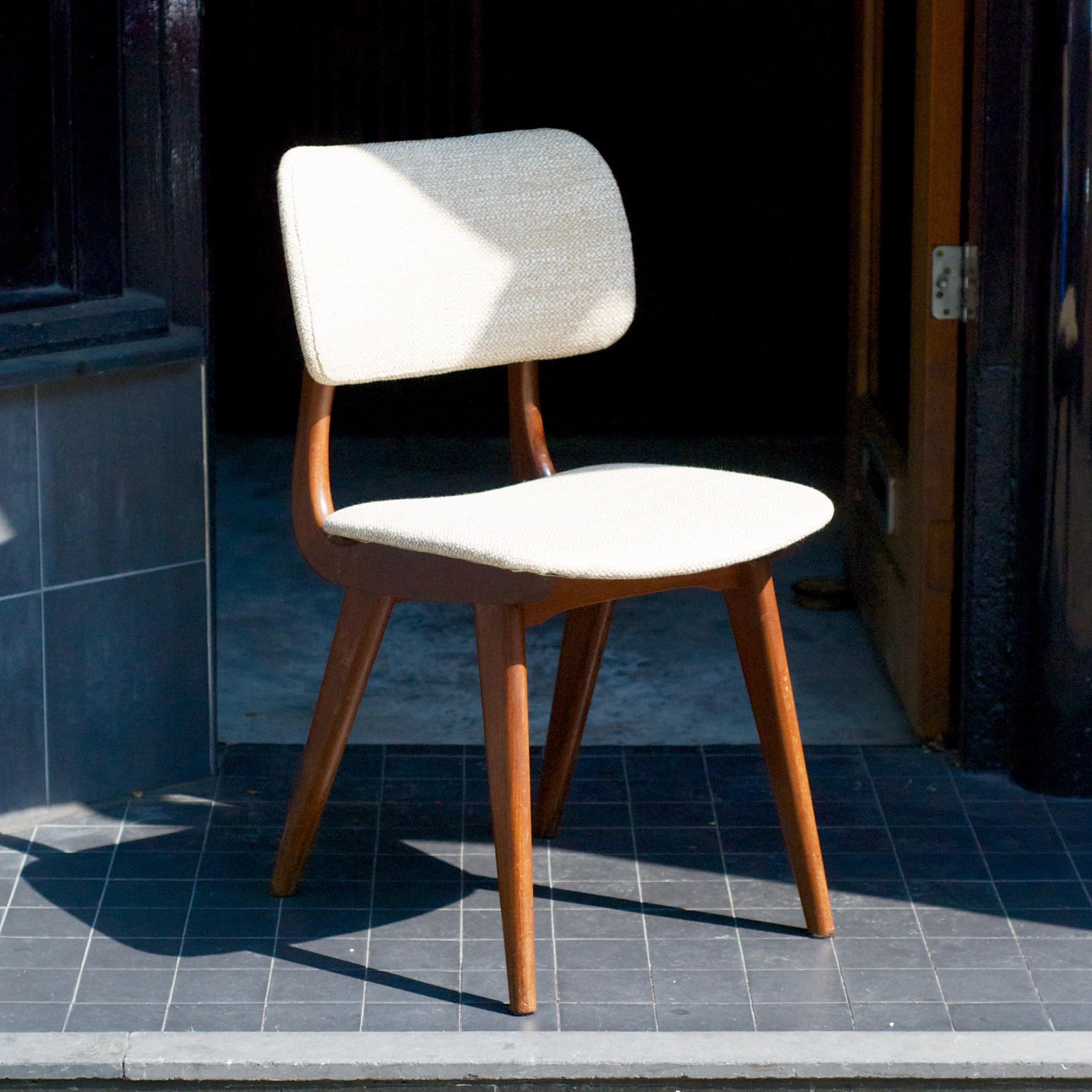 Nieuw gestoffeerde eetkamerstoel van louis van teeffelen for Eetkamerstoel fauteuil
