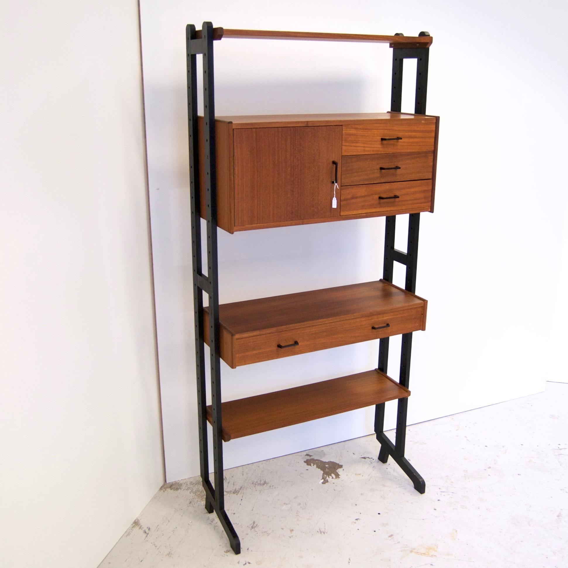 Vintage simpla-lux boekenkast in prachtige staat - Gebroeders van Duijn