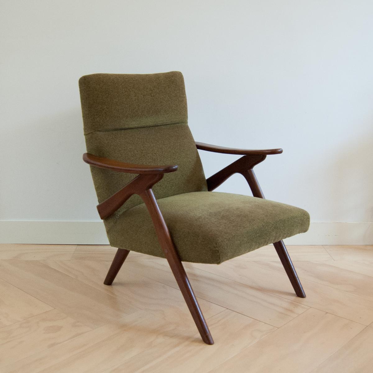 Lounge fauteuil easy chair in scandinavische stijl gebroeders van duijn - Lounge stijl ...