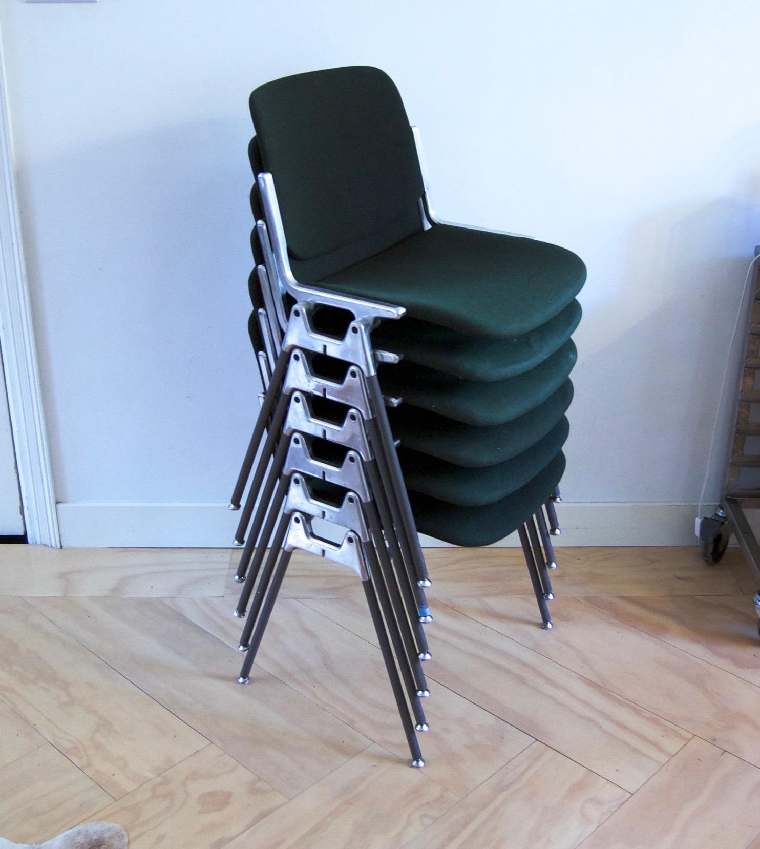 Zes vintage castelli dsc 106 stoelen van ontwerper for Vintage stoelen