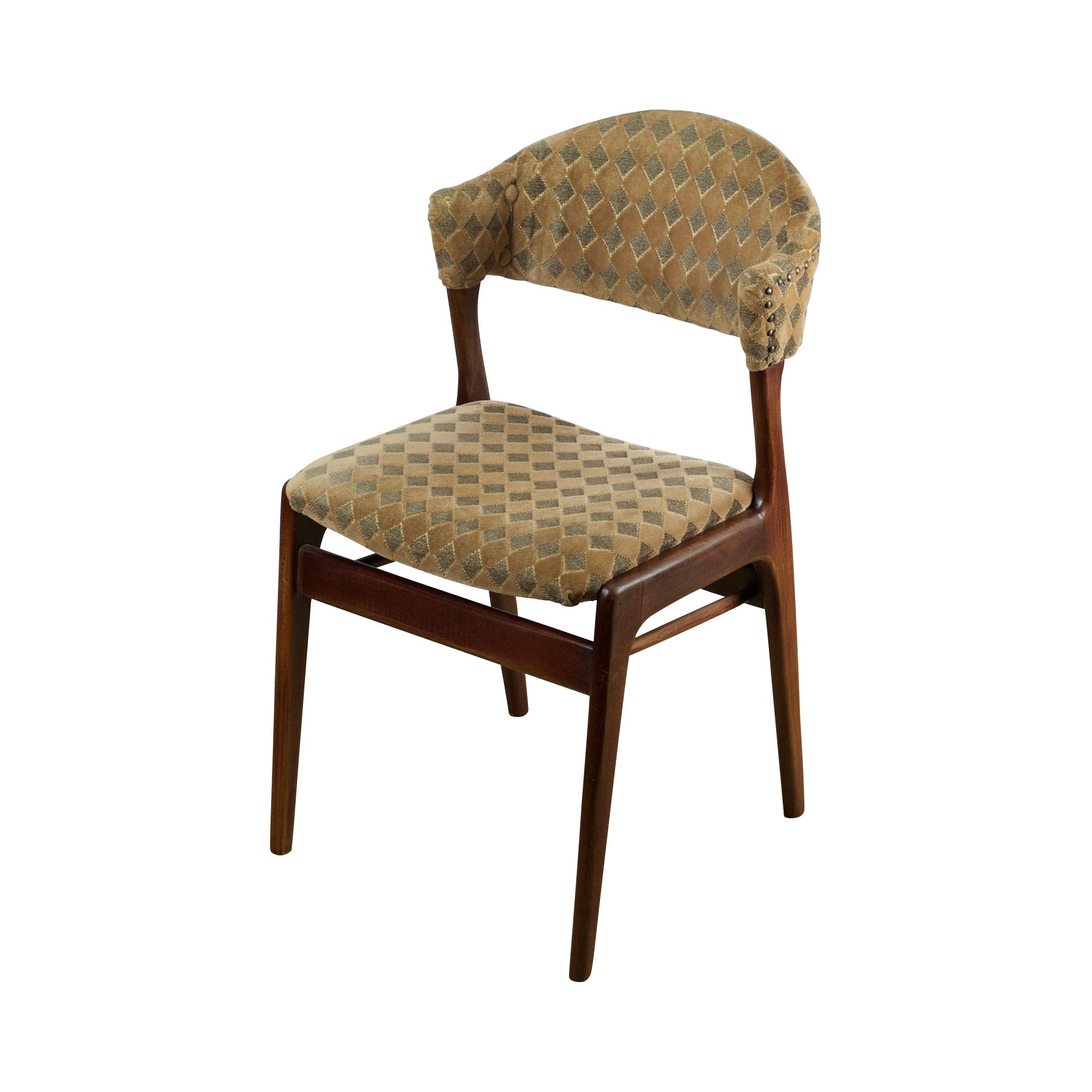 Deense design stoelen uit de jaren zestig in organische for Vintage stoelen
