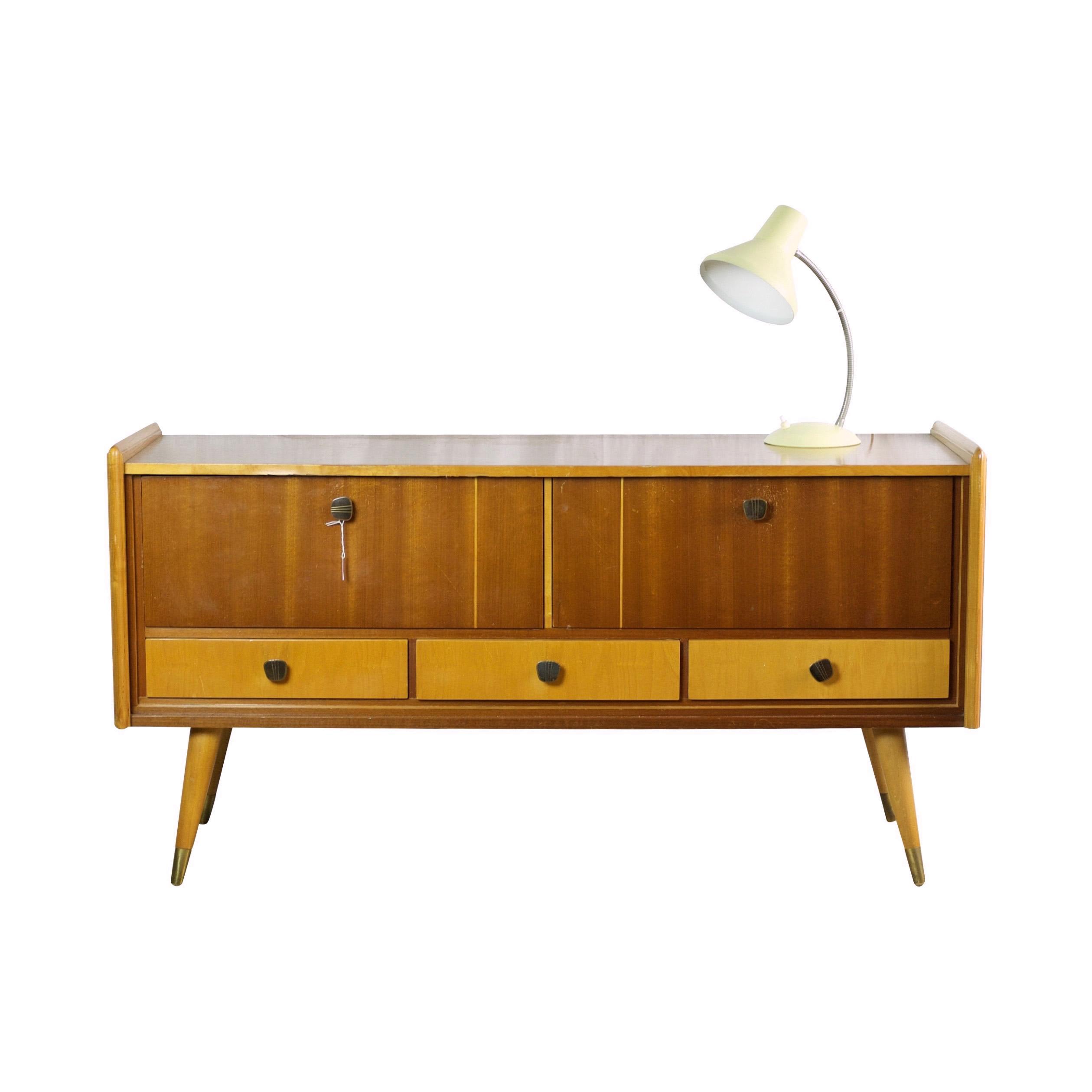 mid century kaptafel of tv meubel gebroeders van duijn