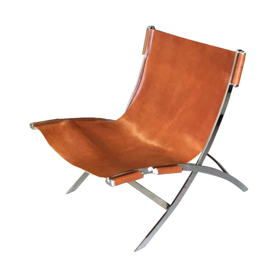 ILVA chair, Cuba, leather