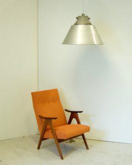 Vintage Bully Lamp en faulteuil