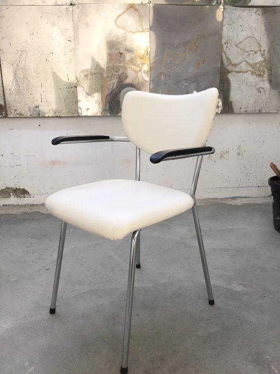 Gispen gebroeders de Wit stoel - wit buisframe